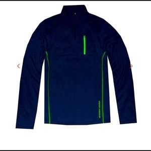 UNDER ARMOUR 1/4 ZIP FLEECE/COLD GEAR